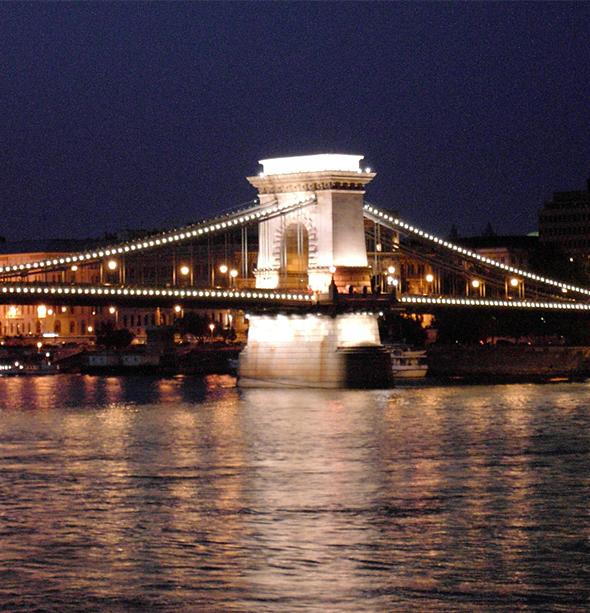 Budapeste é linda por todos os ângulos.